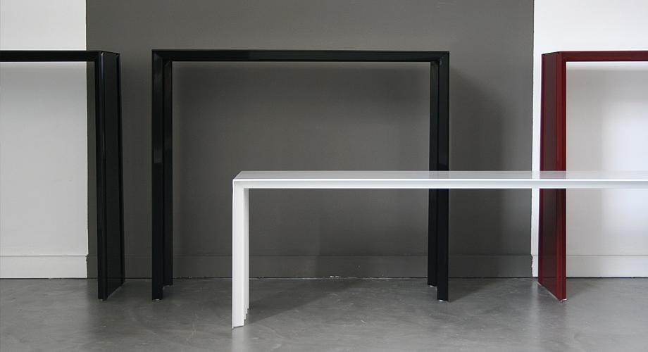 Design mobilier console tol benjamin tortiger 03 for Design d interieur etudes