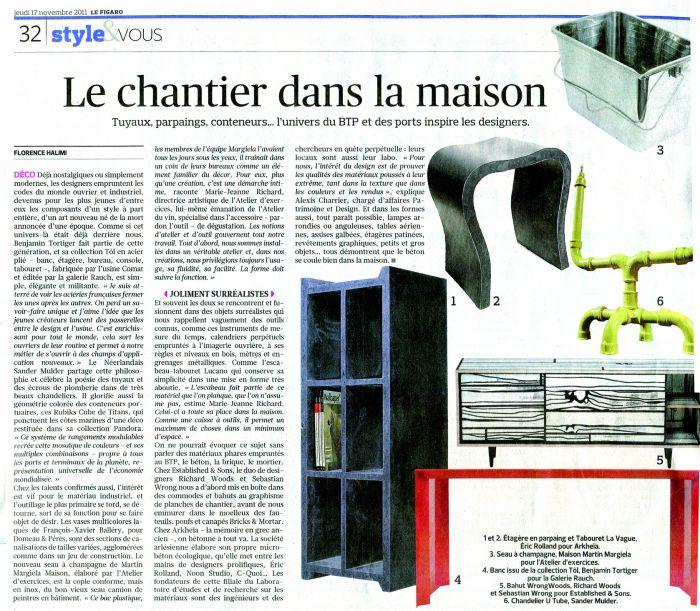 Le Figaro - Novembre 2011
